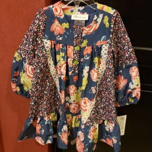 Bonnie Jean floral dress sz 2t NWT